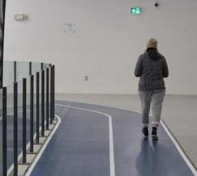 Walking track at West Lincoln Community Centre